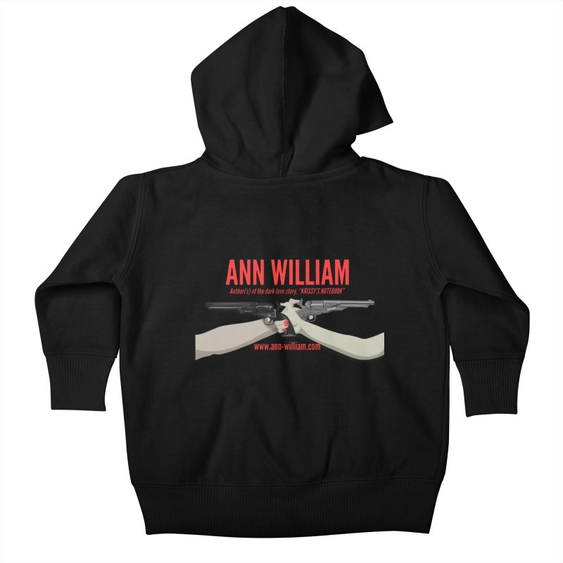 """""""Dueling Personalities"""" Kids Baby Zip-Up Hoody by The Ann William Fiction Writer(s) Artist Shop"""