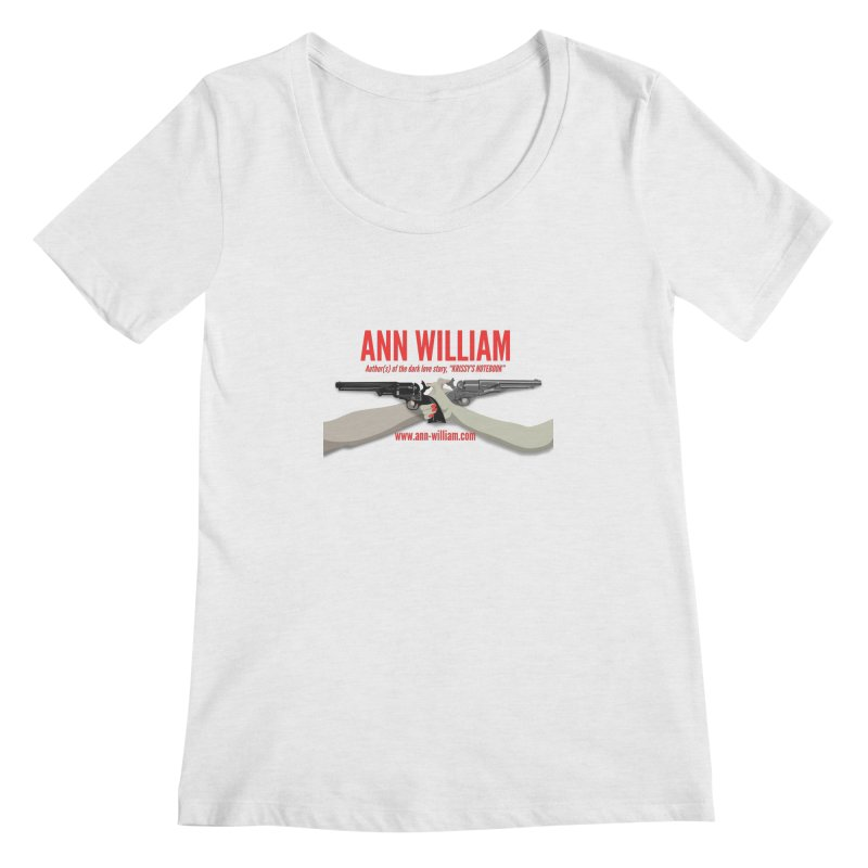 """Dueling Personalities"" Women's Regular Scoop Neck by The Ann William Fiction Writer(s) Artist Shop"