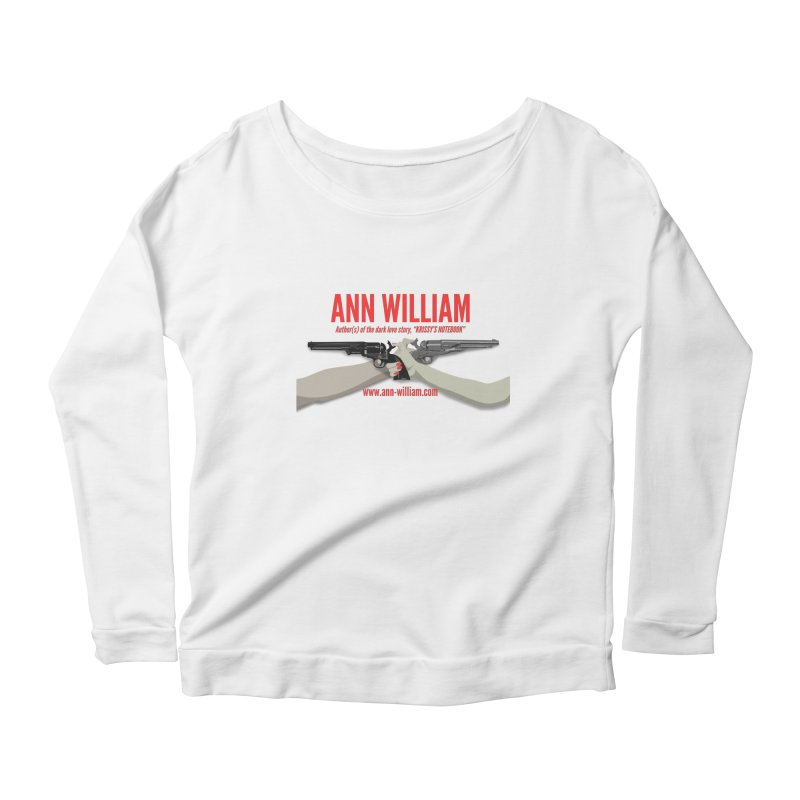 """""""Dueling Personalities"""" Women's Scoop Neck Longsleeve T-Shirt by The Ann William Fiction Writer(s) Artist Shop"""