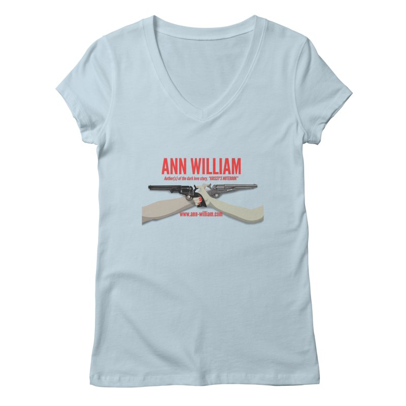 """Dueling Personalities"" Women's Regular V-Neck by The Ann William Fiction Writer(s) Artist Shop"