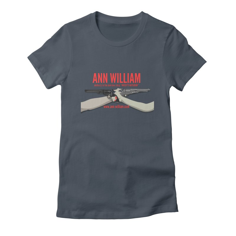 """""""Dueling Personalities"""" Women's Fitted T-Shirt by The Ann William Fiction Writer(s) Artist Shop"""