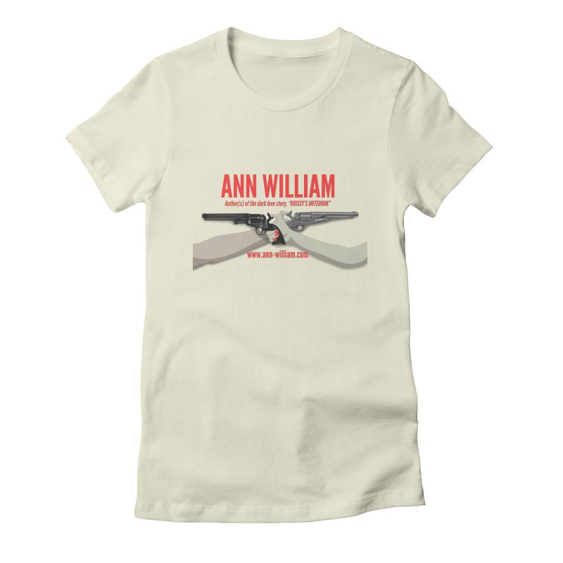 """Dueling Personalities"" Women's Fitted T-Shirt by The Ann William Fiction Writer(s) Artist Shop"
