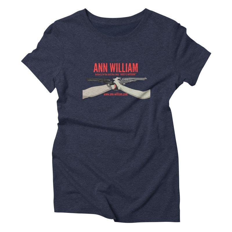 """""""Dueling Personalities"""" Women's Triblend T-Shirt by The Ann William Fiction Writer(s) Artist Shop"""