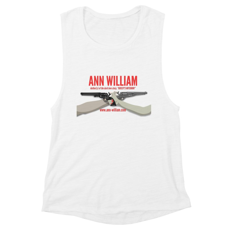 """""""Dueling Personalities"""" Women's Muscle Tank by The Ann William Fiction Writer(s) Artist Shop"""