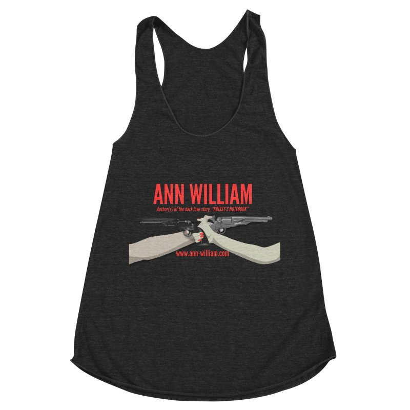 """Dueling Personalities"" Women's Racerback Triblend Tank by The Ann William Fiction Writer(s) Artist Shop"