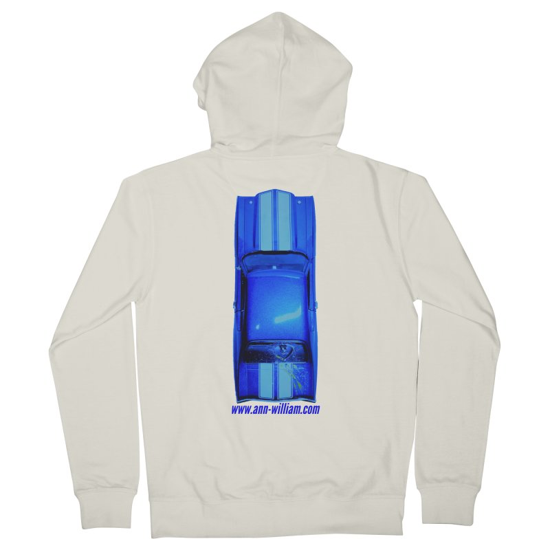 Seth's Chevelle 2 (No Text Version) Women's French Terry Zip-Up Hoody by The Ann William Fiction Writer(s) Artist Shop