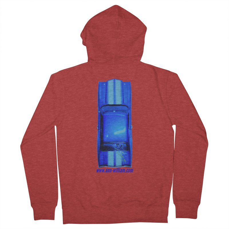 Seth's Chevelle 2 (No Text Version) Men's French Terry Zip-Up Hoody by The Ann William Fiction Writer(s) Artist Shop