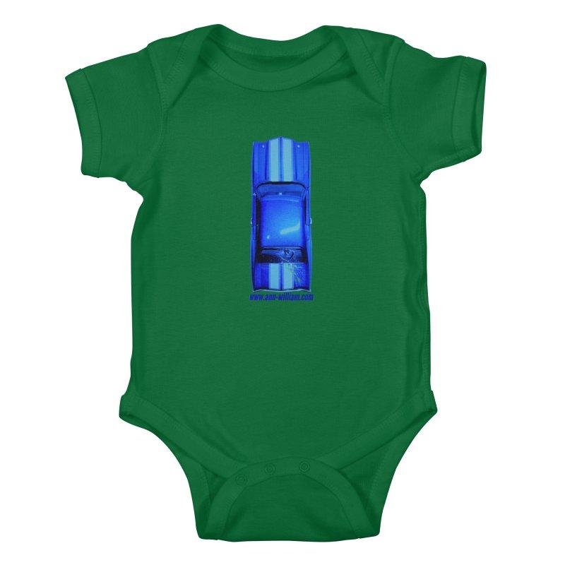 Seth's Chevelle 2 (No Text Version) Kids Baby Bodysuit by The Ann William Fiction Writer(s) Artist Shop