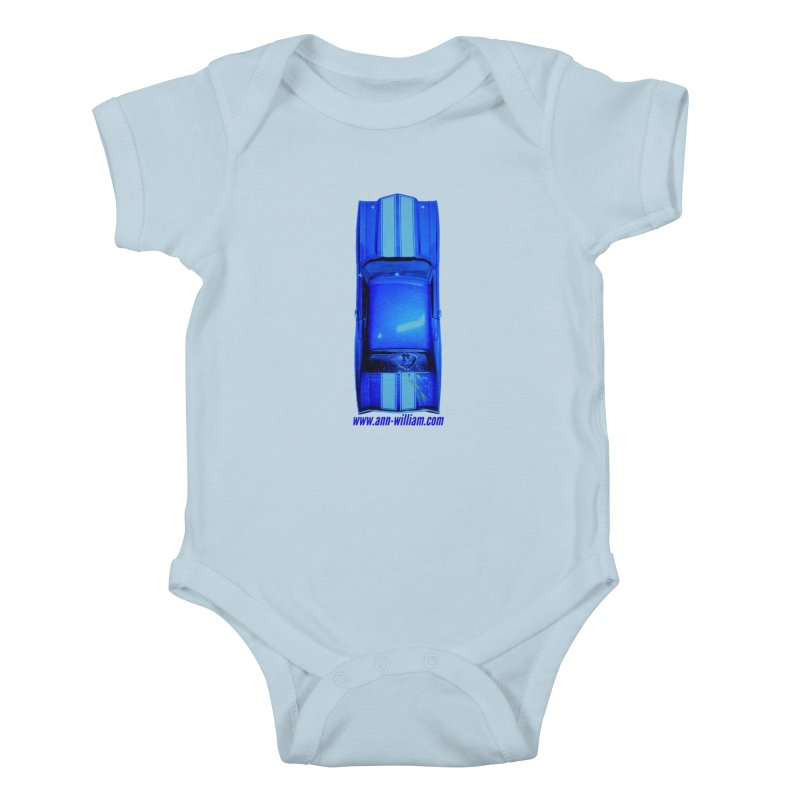 Seth's Chevelle 2 (No Text Version) Kids Baby Bodysuit by The Ann William Fiction Writer(s) Artist Shop