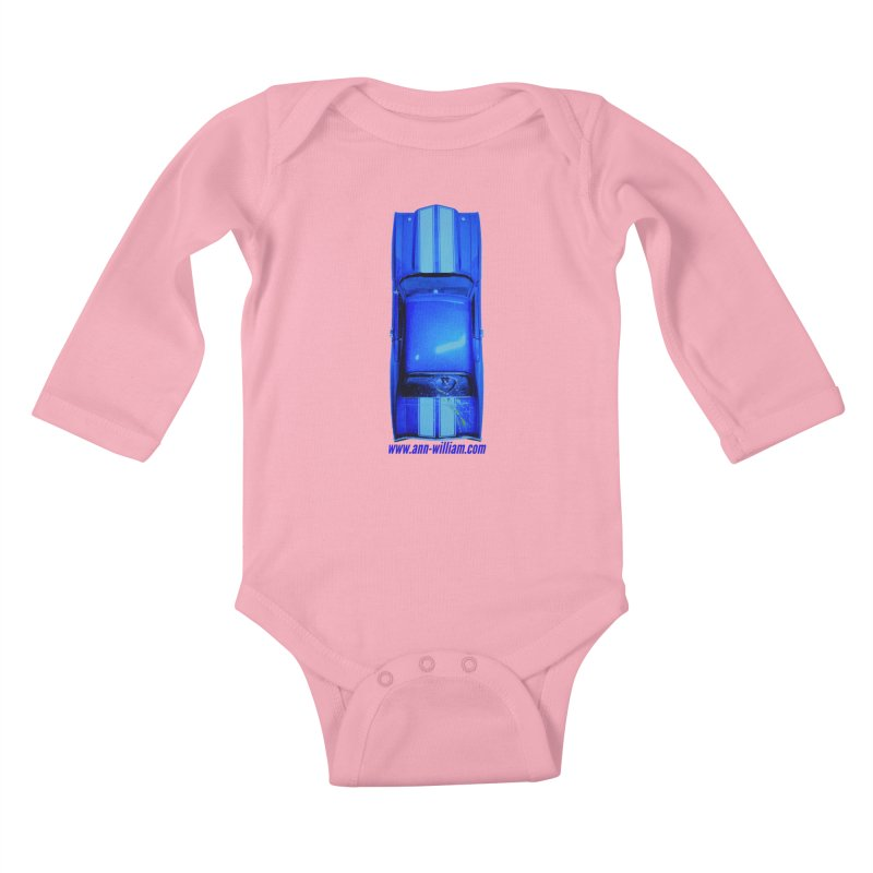 Seth's Chevelle 2 (No Text Version) Kids Baby Longsleeve Bodysuit by The Ann William Fiction Writer(s) Artist Shop
