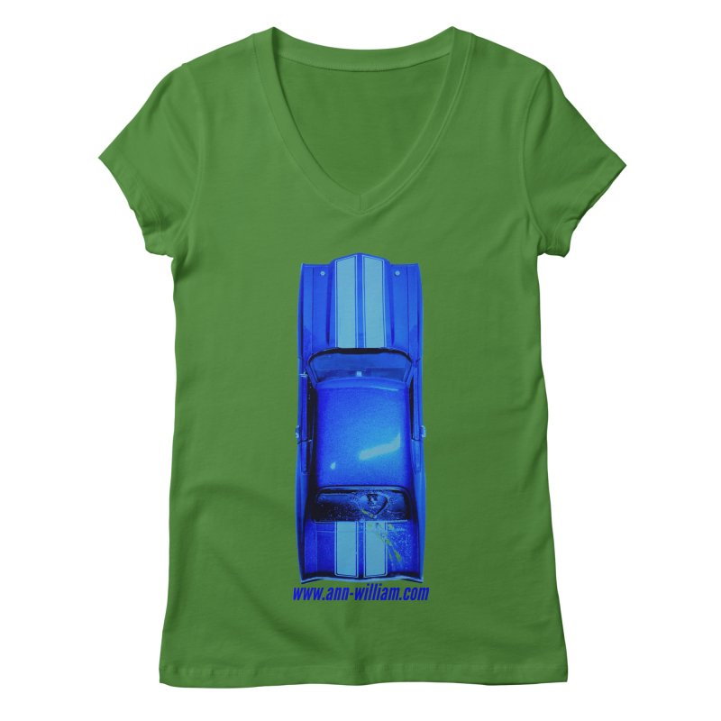 Seth's Chevelle 2 (No Text Version) Women's Regular V-Neck by The Ann William Fiction Writer(s) Artist Shop