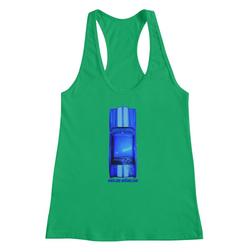 Seth's Chevelle 2 (No Text Version) Women's Racerback Tank by The Ann William Fiction Writer(s) Artist Shop
