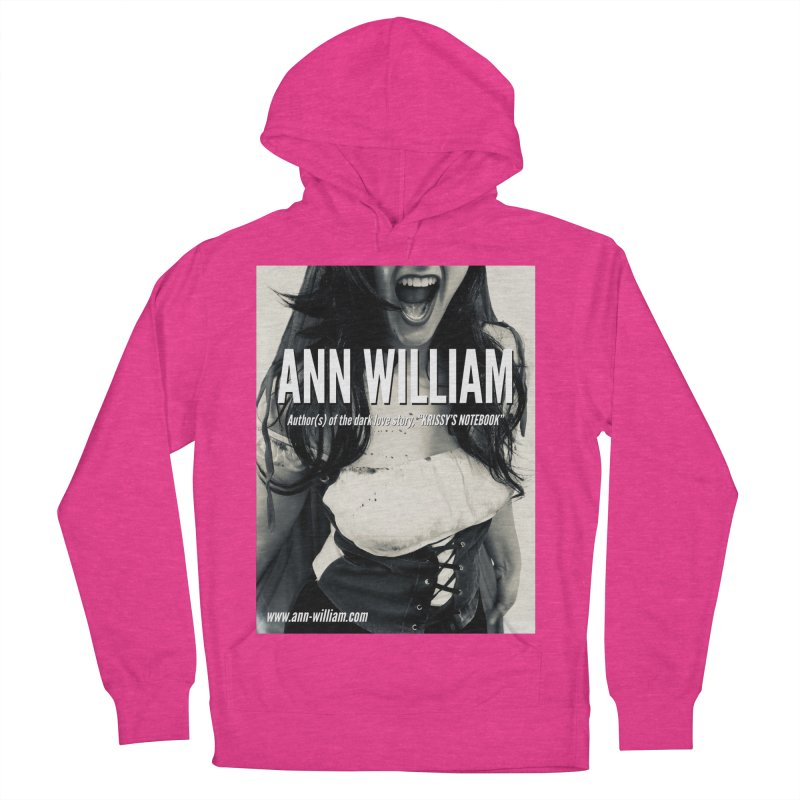 Screaming Krissy 2 Men's French Terry Pullover Hoody by The Ann William Fiction Writer(s) Artist Shop