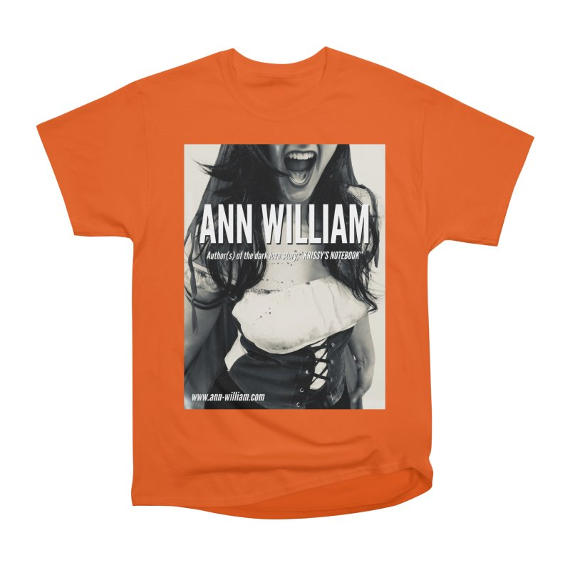 Screaming Krissy 2 Men's Heavyweight T-Shirt by The Ann William Fiction Writer(s) Artist Shop