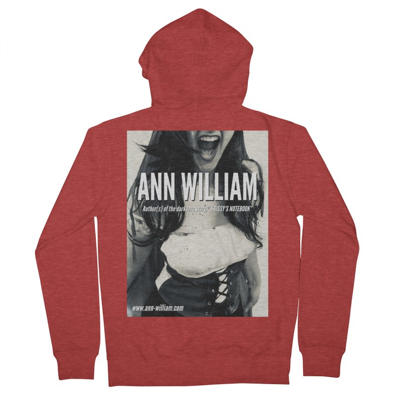Screaming Krissy 2 Women's French Terry Zip-Up Hoody by The Ann William Fiction Writer(s) Artist Shop