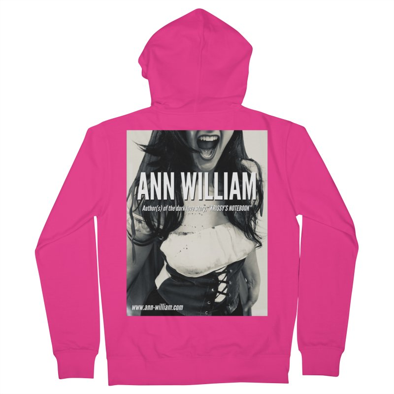 Screaming Krissy 2 Men's French Terry Zip-Up Hoody by The Ann William Fiction Writer(s) Artist Shop