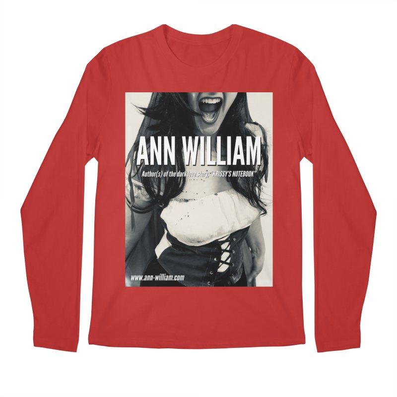 Screaming Krissy 2 Men's Regular Longsleeve T-Shirt by The Ann William Fiction Writer(s) Artist Shop