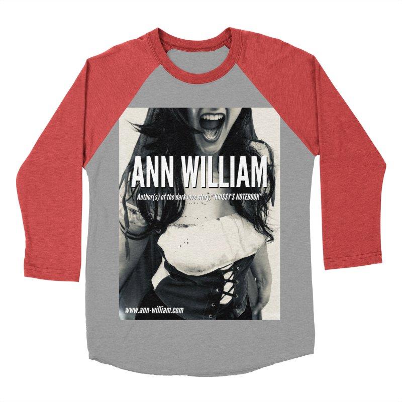 Screaming Krissy 2 Women's Baseball Triblend Longsleeve T-Shirt by The Ann William Fiction Writer(s) Artist Shop