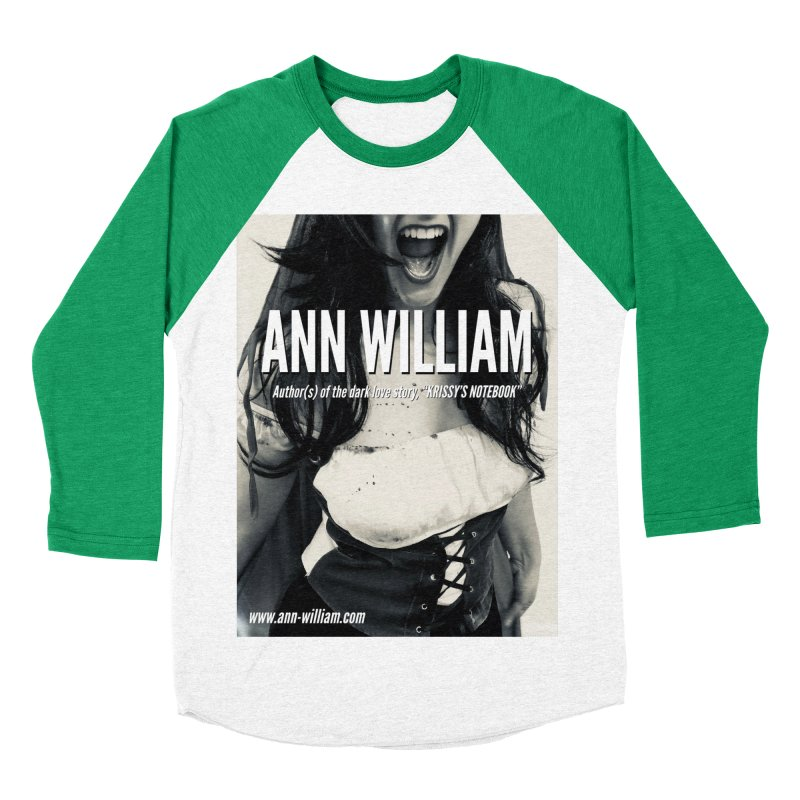 Screaming Krissy 2 Men's Baseball Triblend Longsleeve T-Shirt by The Ann William Fiction Writer(s) Artist Shop