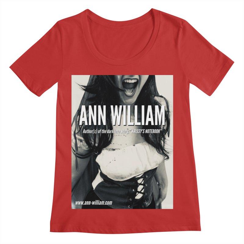 Screaming Krissy 2 Women's Regular Scoop Neck by The Ann William Fiction Writer(s) Artist Shop