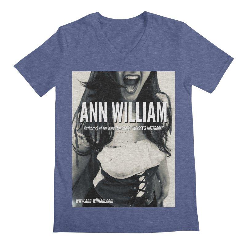 Screaming Krissy 2 Men's Regular V-Neck by The Ann William Fiction Writer(s) Artist Shop