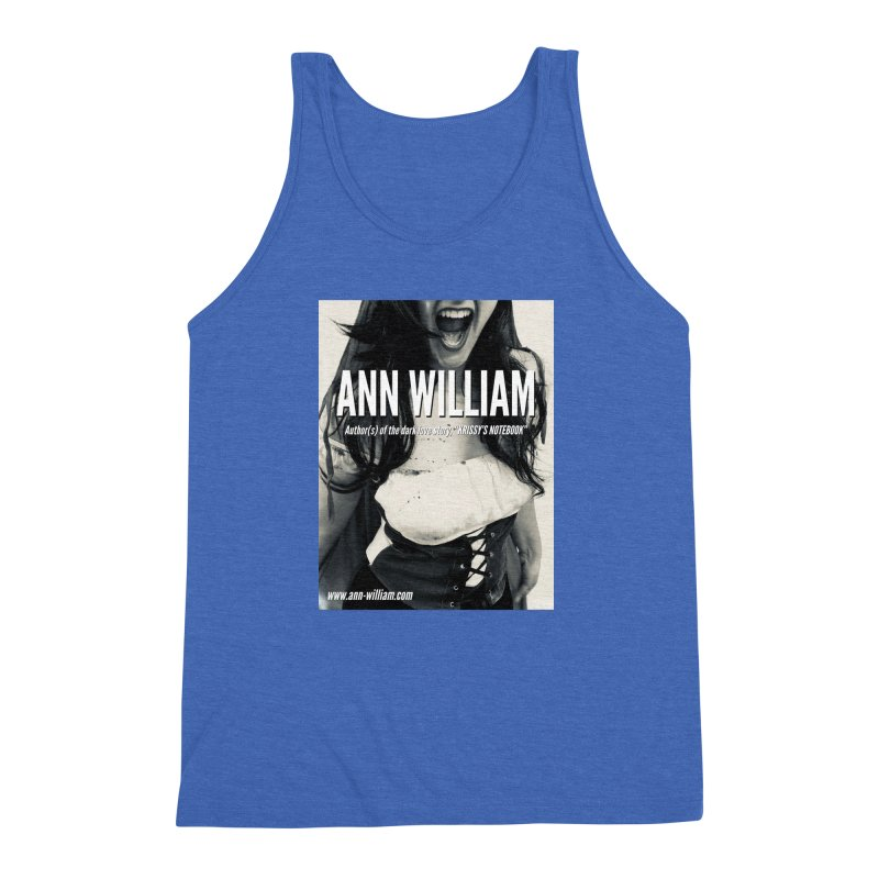 Screaming Krissy 2 Men's Triblend Tank by The Ann William Fiction Writer(s) Artist Shop