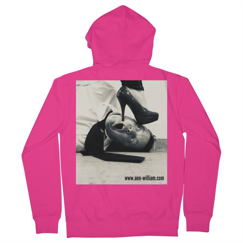 That's it Baby, Walk All Over Me... Men's French Terry Zip-Up Hoody by The Ann William Fiction Writer(s) Artist Shop