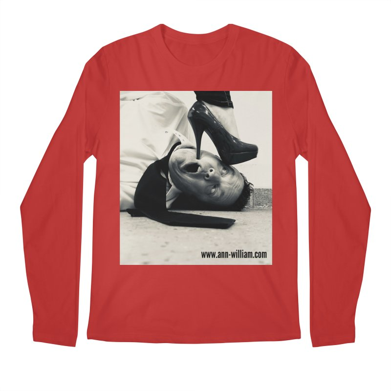 That's it Baby, Walk All Over Me... Men's Regular Longsleeve T-Shirt by The Ann William Fiction Writer(s) Artist Shop
