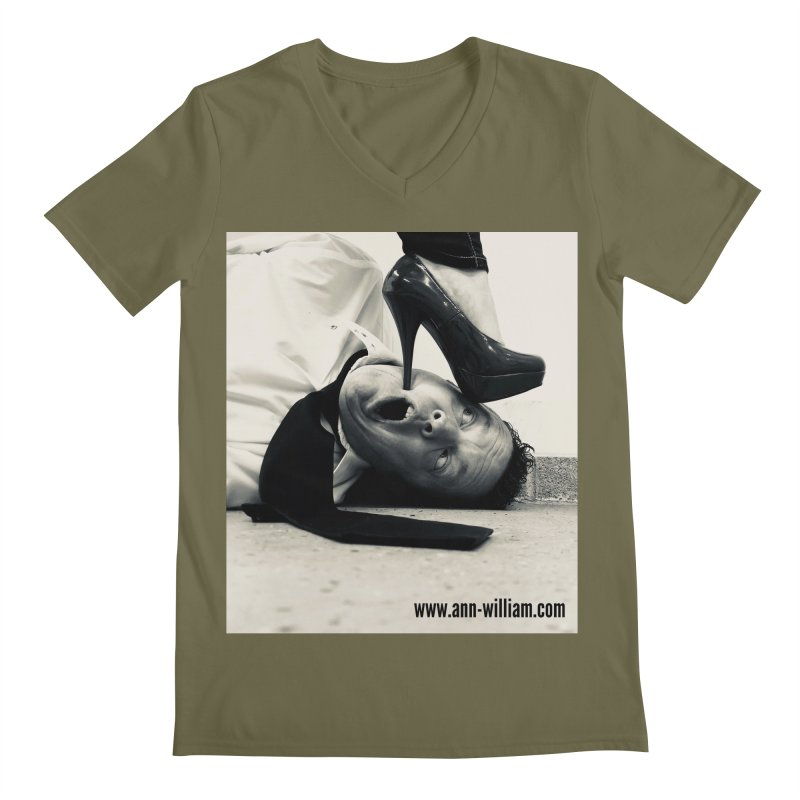 That's it Baby, Walk All Over Me... Men's Regular V-Neck by The Ann William Fiction Writer(s) Artist Shop