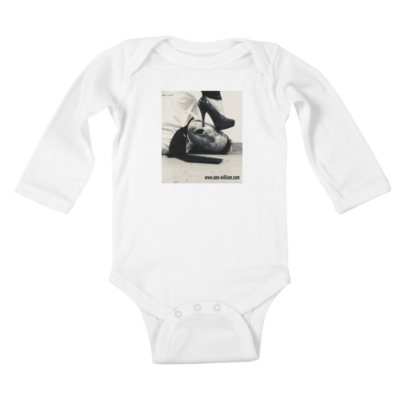 That's it Baby, Walk All Over Me... Kids Baby Longsleeve Bodysuit by The Ann William Fiction Writer(s) Artist Shop