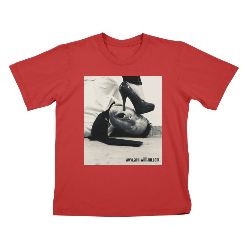 That's it Baby, Walk All Over Me... Kids T-Shirt by The Ann William Fiction Writer(s) Artist Shop