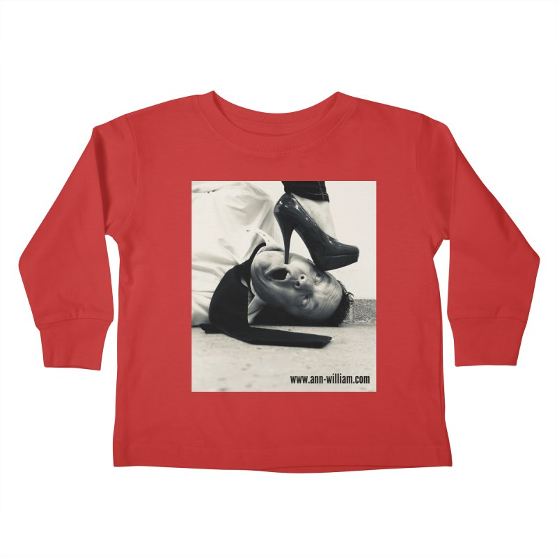 That's it Baby, Walk All Over Me... Kids Toddler Longsleeve T-Shirt by The Ann William Fiction Writer(s) Artist Shop
