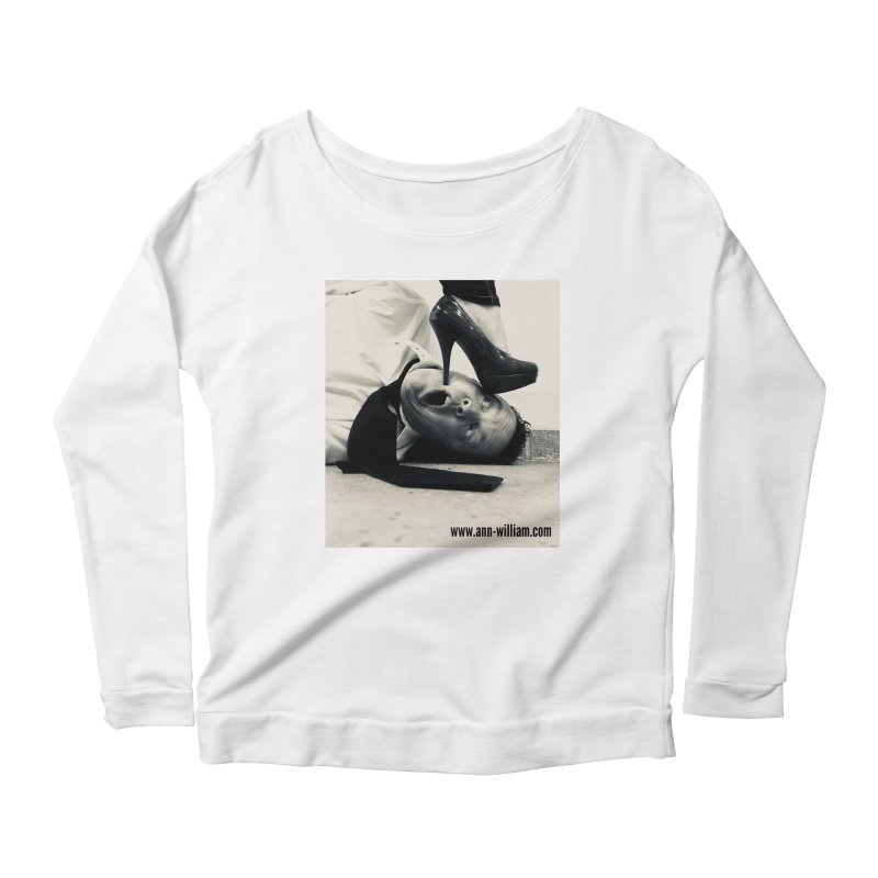 That's it Baby, Walk All Over Me... Women's Scoop Neck Longsleeve T-Shirt by The Ann William Fiction Writer(s) Artist Shop