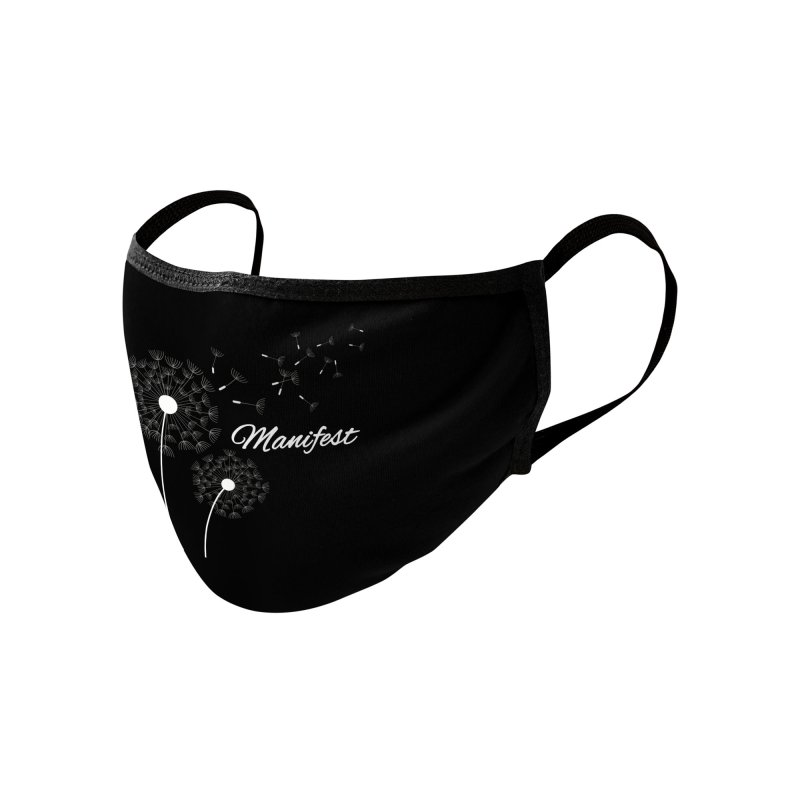 Manifest Accessories Face Mask by Shop As You Wish Publishing