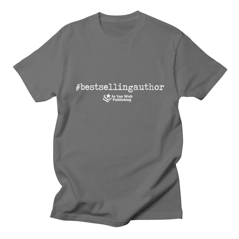 Best Selling Author Men's T-Shirt by Shop As You Wish Publishing