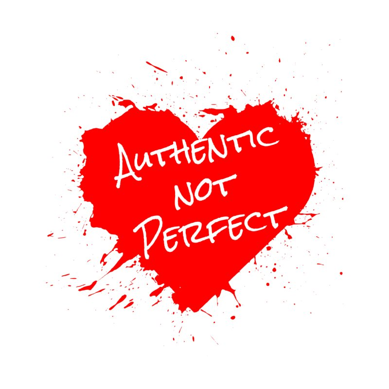 Authentic Not Perfect Accessories Magnet by Shop As You Wish Publishing