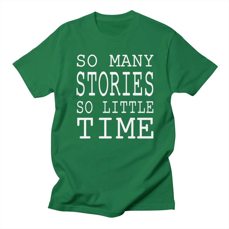 So Many Stories Men's T-Shirt by Shop As You Wish Publishing