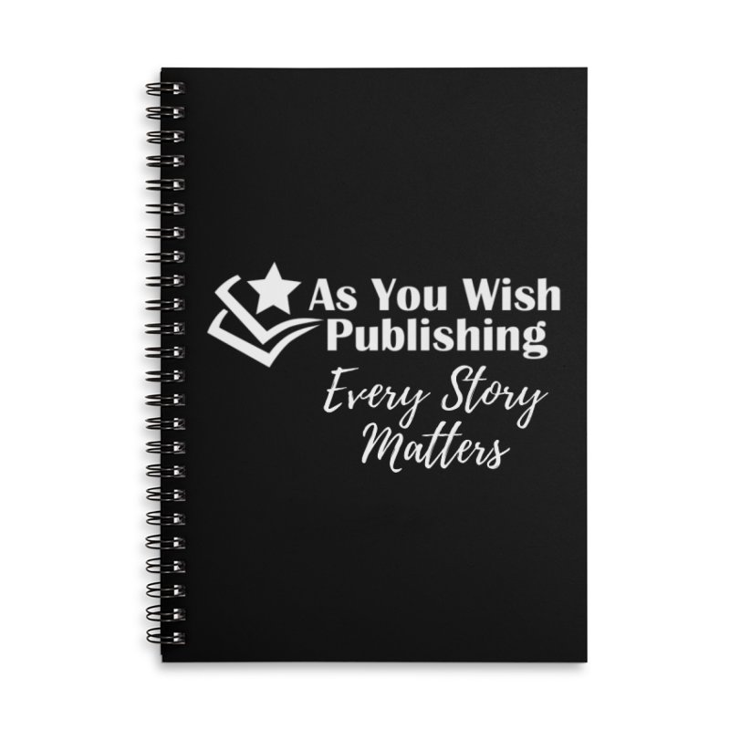 Every Story Matters Wht Accessories Notebook by Shop As You Wish Publishing