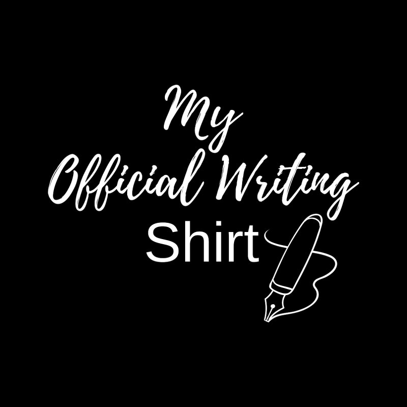 Official Writing Shirt Men's Sweatshirt by Shop As You Wish Publishing