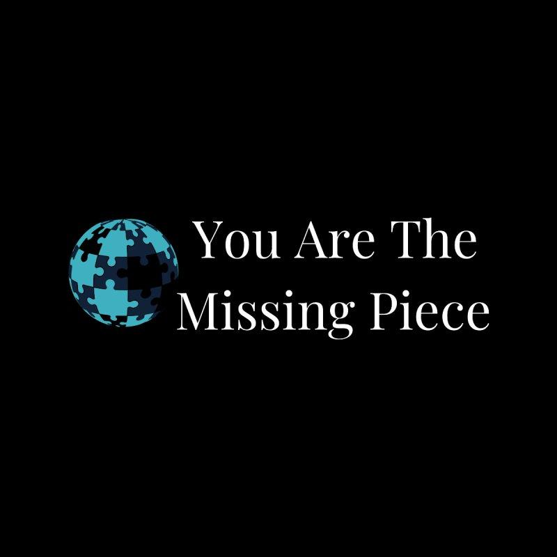 Missing Piece Men's Zip-Up Hoody by Shop As You Wish Publishing