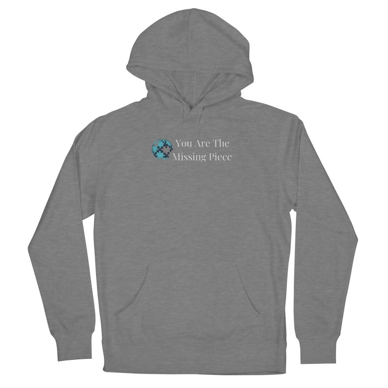 Missing Piece Men's Pullover Hoody by Shop As You Wish Publishing