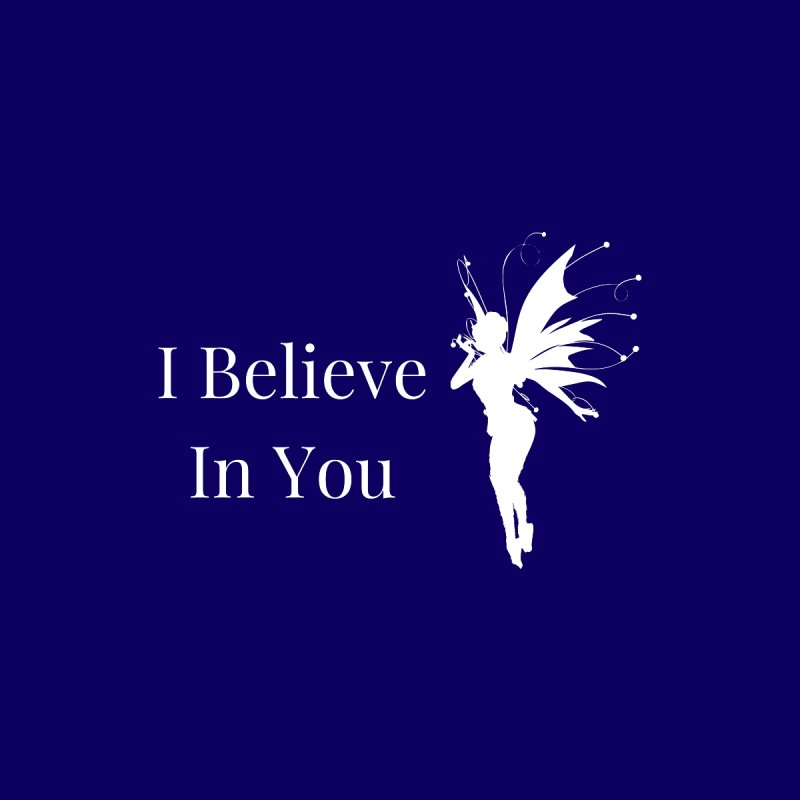 I Believe In You Home Blanket by Shop As You Wish Publishing