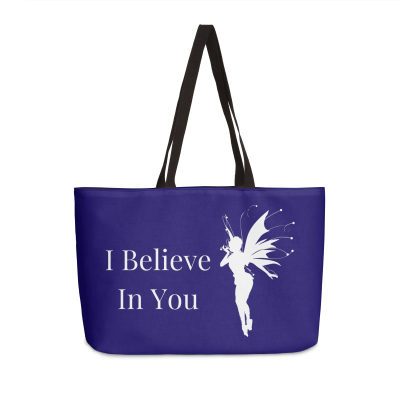 I Believe In You Accessories Bag by Shop As You Wish Publishing