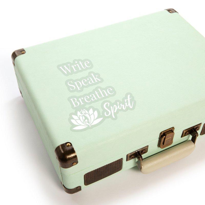 Write Speak Breathe Spirit Accessories Sticker by Shop As You Wish Publishing