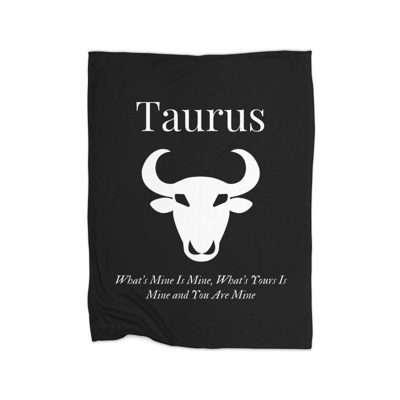 Taurus Home Blanket by Shop As You Wish Publishing