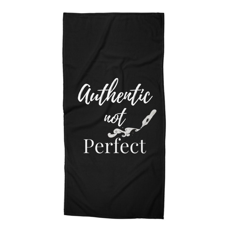 Authentic Pen Accessories Beach Towel by Shop As You Wish Publishing
