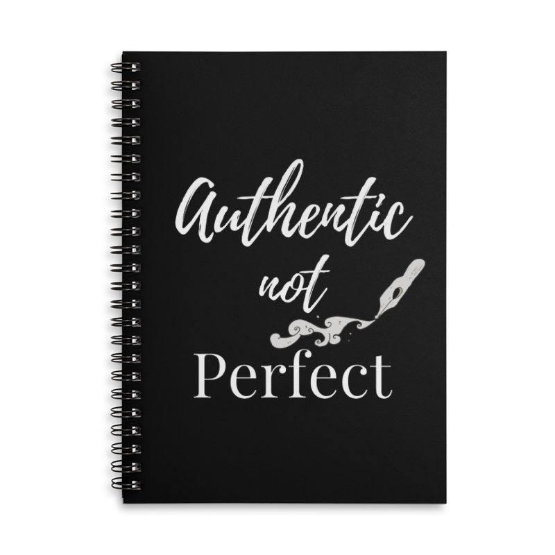 Authentic Pen Accessories Notebook by Shop As You Wish Publishing