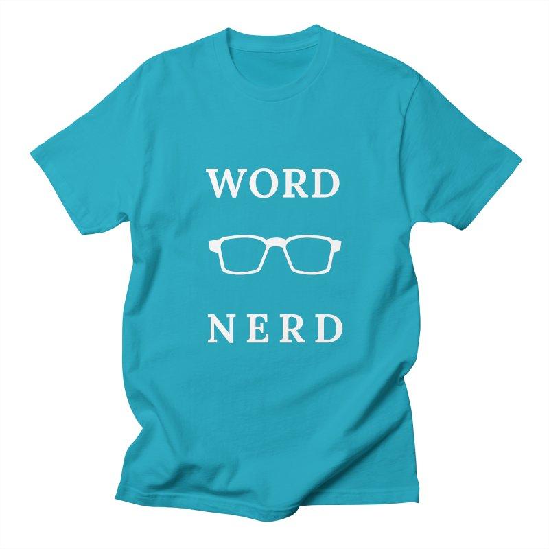 Word Nerd Glasses Men's T-Shirt by Shop As You Wish Publishing