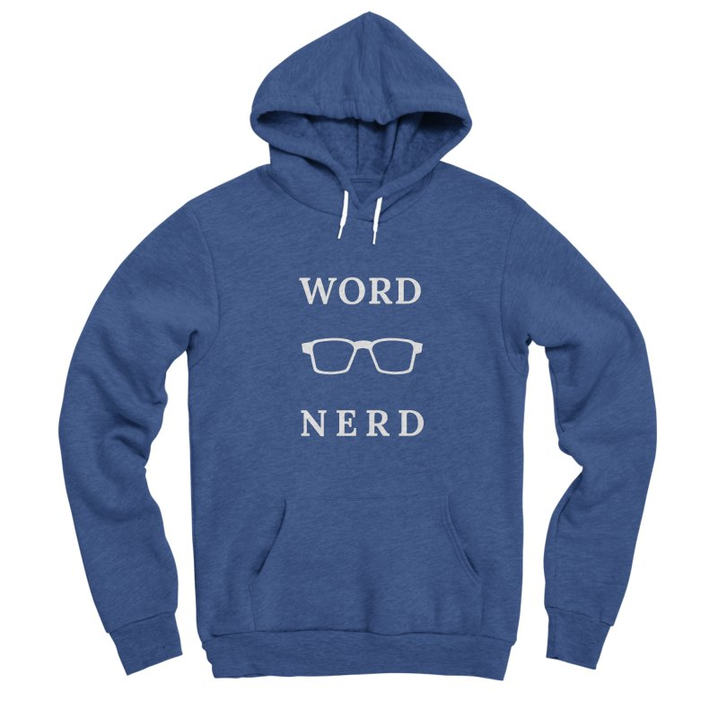Word Nerd Glasses Men's Pullover Hoody by Shop As You Wish Publishing
