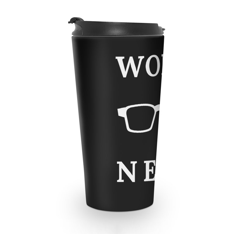 Word Nerd Glasses Accessories Mug by Shop As You Wish Publishing